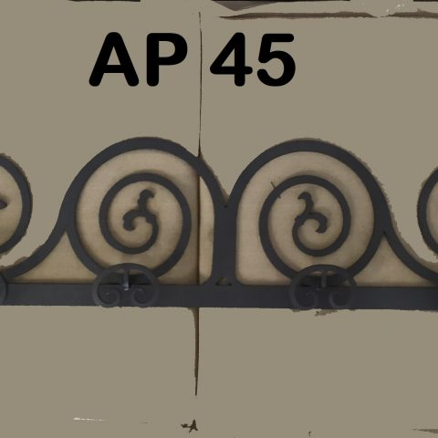 Appendiabiti in ferro battuto AP 45
