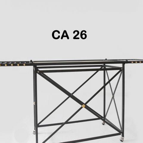 Stendino in ferro e acciaio CA 26