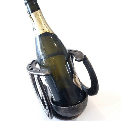 Porta bottiglie in ferro battuto CA 33