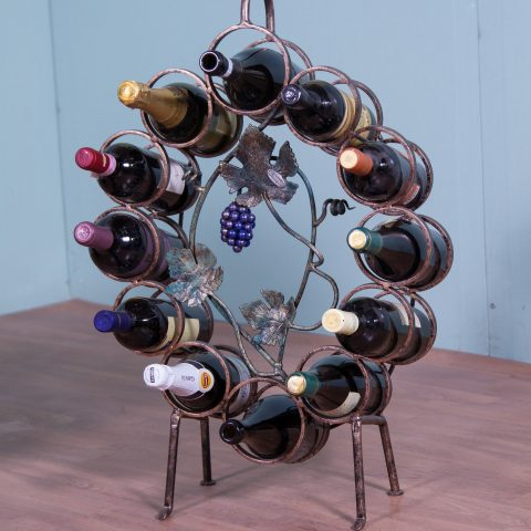 Porta bottiglie in ferro battuto CA 44