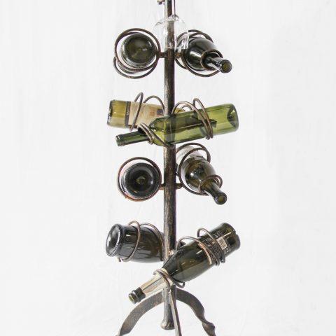 Porta bottiglie in ferro battuto CA 52
