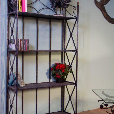 Libreria/Etagere in ferro battuto CA 60