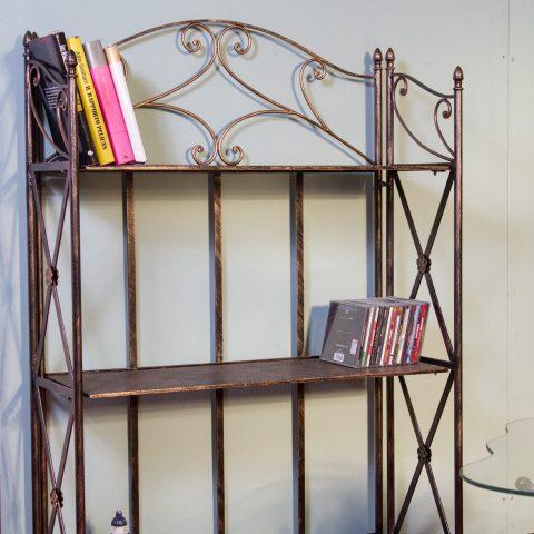 Libreria/Etagere in ferro battuto CA 61
