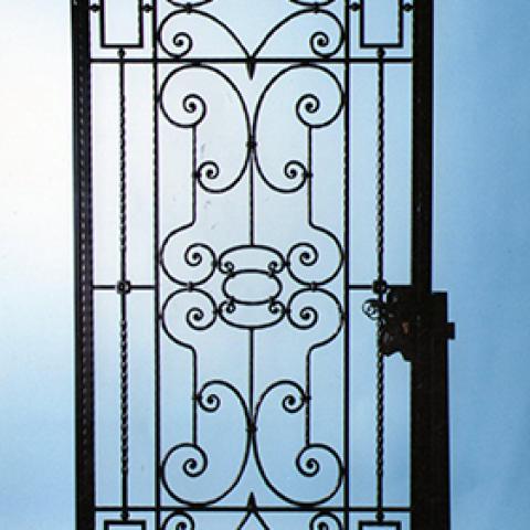 Portone d'ingresso in ferro battuto PI 10