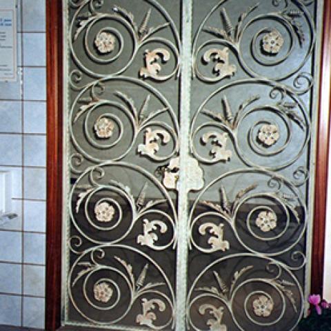 Portone d'ingresso in ferro battuto PI 13