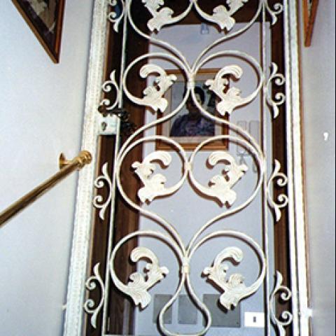 Portone d'ingresso in ferro battuto PI 14