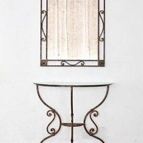 Cornice per specchio in ferro battuto SP 04