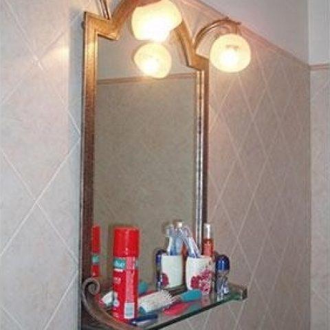 Cornice per specchio in ferro battuto SP 09