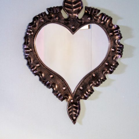 Cornice per specchio in ferro battuto SP 12