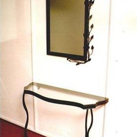 Cornice per specchio in ferro battuto SP 17