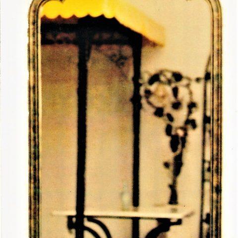Cornice per specchio in ferro battuto SP 24