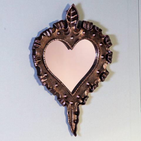 Cornice per specchio in ferro battuto SP 25